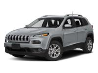 This 2018 Jeep Cherokee Latitude in Patriot Blue