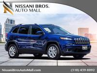 CARFAX One-Owner. Clean CARFAX. Blue 2018 Jeep Cherokee
