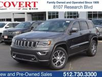 Crystal Metallic 2018 Jeep Grand Cherokee Limited RWD