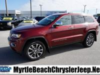 New Price! 2018 Jeep Grand Cherokee Limited 4-Wheel