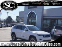 Bright White Clearcoat 2018 Jeep Grand Cherokee Limited