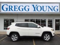 New Price! White Clearcoat 2018 Jeep Compass Latitude