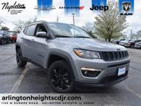 2018 Jeep Compass 4WD. Latitude 4WD 9-Speed Automatic