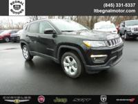 $2,000 off MSRP! 2018 Jeep Compass Diamond Black