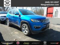 $2,000 off MSRP! 2018 Jeep Compass Laser Blue Latitude