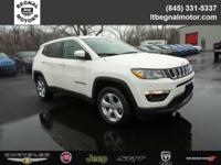 $2,000 off MSRP! 2018 Jeep Compass White Clearcoat