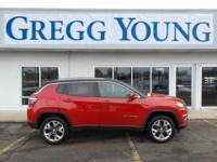 New Price! Red Line 2018 Jeep Compass Limited 4WD