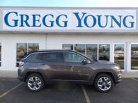 New Price! Crystal Metallic 2018 Jeep Compass Limited