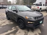 Crystal Metallic 2018 Jeep Compass Sport BACK UP
