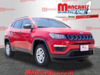 This 2018 Jeep Compass Sport is complete with