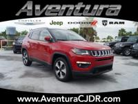 Red Line 2018 Jeep Compass Latitude FWD 6-Speed Aisin