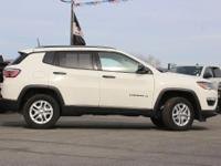 Options:  2018 Jeep Compass Sport|Priced Below Kbb Fair