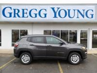 Crystal Metallic 2018 Jeep Compass Sport FWD 6-Speed