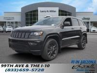 Delivers 25 Highway MPG and 18 City MPG! This Jeep