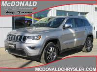 Options:  2018 Jeep Grand Cherokee Limited 4X4|Miles: