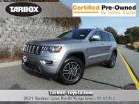 Silver 2018 Jeep Grand Cherokee Limited 4WD Automatic