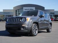 Delivers 30 Highway MPG and 22 City MPG! This Jeep