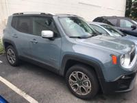 Recent Arrival!  Anvil 2018 Jeep Renegade Limited 2.4L