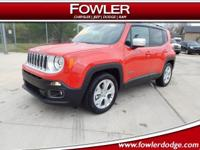 Recent Arrival! $5,562 off MSRP!  2018 Jeep Renegade