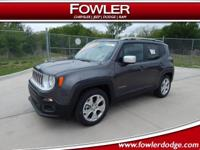 Recent Arrival! $4,914 off MSRP!  2018 Jeep Renegade
