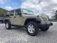 This 2018 Jeep Wrangler JK Unlimited Sport S is proudly