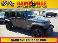 CARFAX One-Owner. Clean CARFAX. Wrangler JK Unlimited
