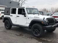 Recent Arrival! 2018 Jeep Wrangler JK Unlimited Willys