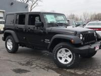 2018 Jeep Wrangler JK Unlimited Sport S ABS brakes,
