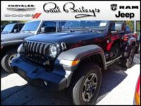 This Jeep won't be on the lot long! It comes equipped