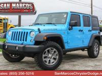 Only 8,781 Miles! This Jeep Wrangler JK Unlimited