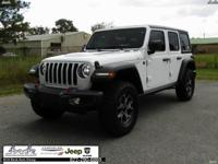 CARFAX One-Owner. Clean CARFAX. White 2018 Jeep