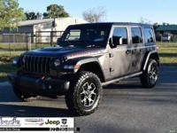 Gray 2018 Jeep Wrangler Unlimited Rubicon 4WD 6-Speed