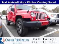Clean CARFAX. Red Clearcoat 2018 Jeep Wrangler JK