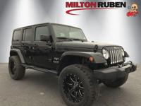 This 2018 Jeep Wrangler JK Unlimited 4dr Sahara 4x4