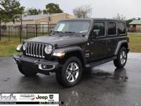 Gray 2018 Jeep Wrangler Unlimited Sahara 4WD 8-Speed
