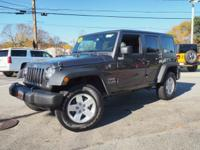 Very Nice, Jeep Certified. 4x4, Alloy Wheels, iPod/MP3