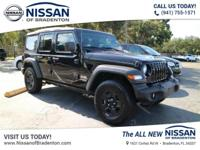 Recent Arrival! Fully Detailed.2018 Jeep Wrangler