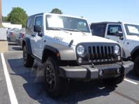 Options:  2018 Jeep Wrangler Jk Willys Wheeler