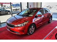 We are excited to offer this 2018 Kia Forte. The look