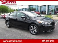 New Price! Aurora Black 2018 Kia Forte S FWD Automatic