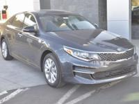 Gray 2018 Kia Optima EX FWD 6-Speed Automatic with