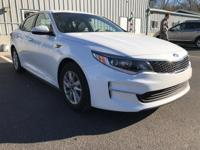 CARFAX One-Owner. Snow White Pearl 2018 Kia Optima LX