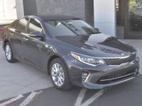 Gray 2018 Kia Optima S FWD 6-Speed Automatic with