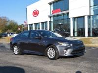CARFAX One-Owner. Platinum Graphite 2018 4D Sedan Kia