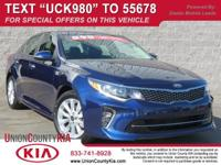 Kia CERTIFIED Pre-Owned, **CLEAN 1-OWNER CARFAX,