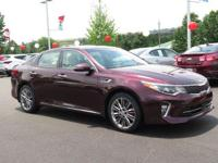 Sangria 2018 Kia Optima SX Turbo FWD Automatic 2.0L