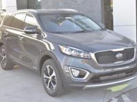 Gray 2018 Kia Sorento EX AWD 6-Speed Automatic with
