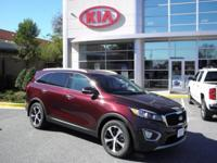 Sangria 2018 Kia Sorento EX FWD 6-Speed Automatic with