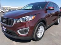 CARFAX One-Owner. 2018 Kia Sorento LX Red One Owner,