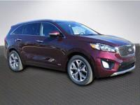 Sangria 2018 Kia Sorento SX AWD 6-Speed Automatic with